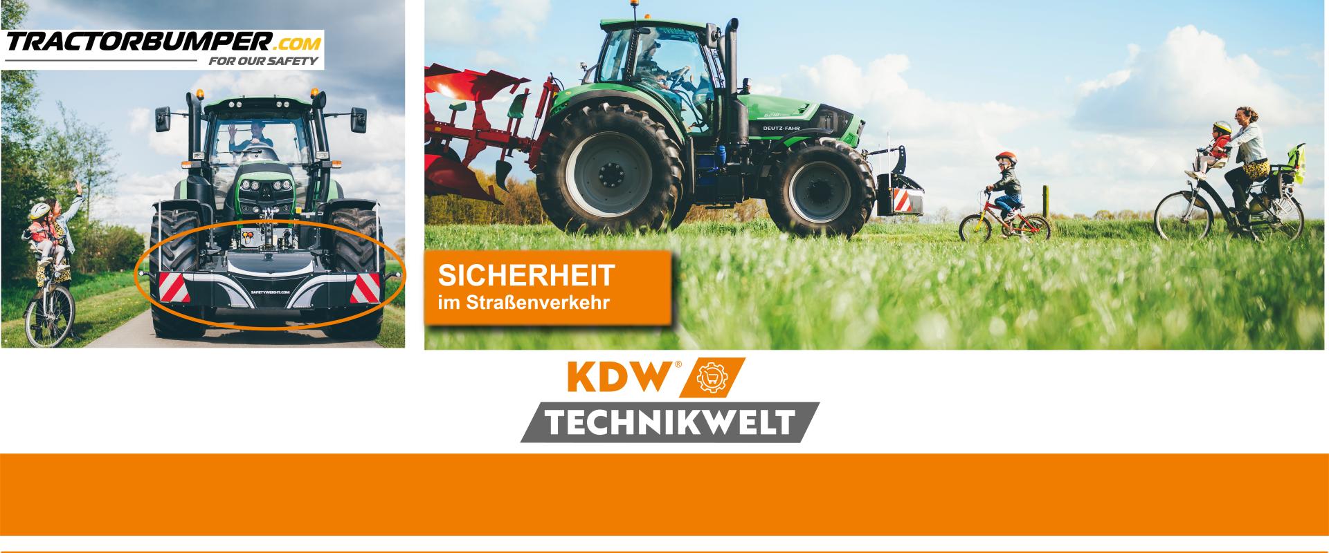 KDW Technikwelt Tractorbumper